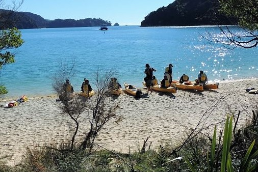 Corporate day out - Abel Tasman sea kayak and walk